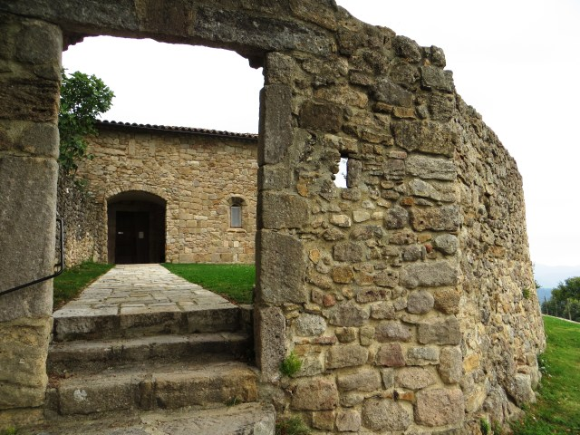 The church in St Croix de Caderle