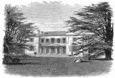 Chase House, south side (demolished to accommodate the railway)