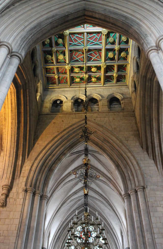 The transcept, Southwark Cathedral