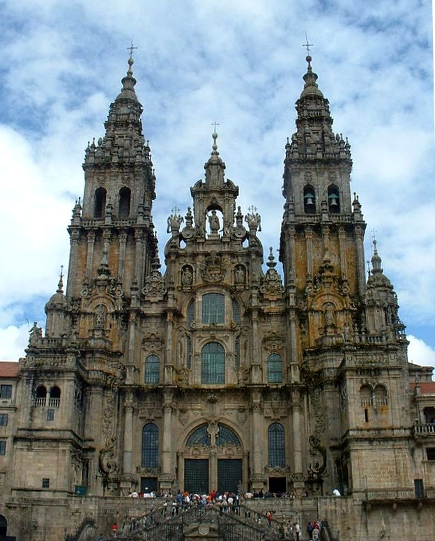 Cathedral of Santiago, West Front (Wikipedia)