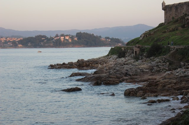 The bay in the evening