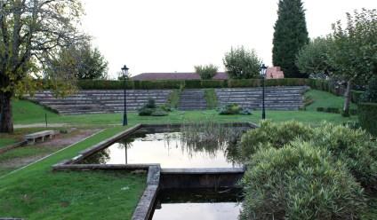 The gardens of the Church of Santa Domingo