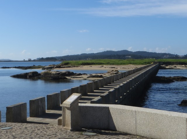 The causeway to the island