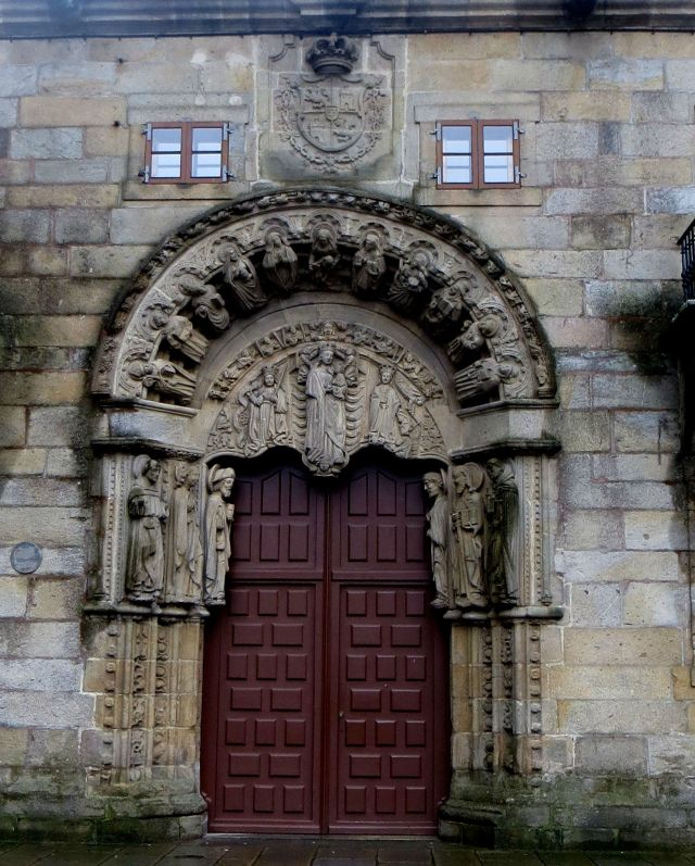 Doorway of College of St Jerome