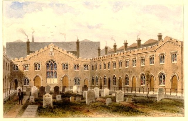 Thomas Cure's Almshouses (British Museum)