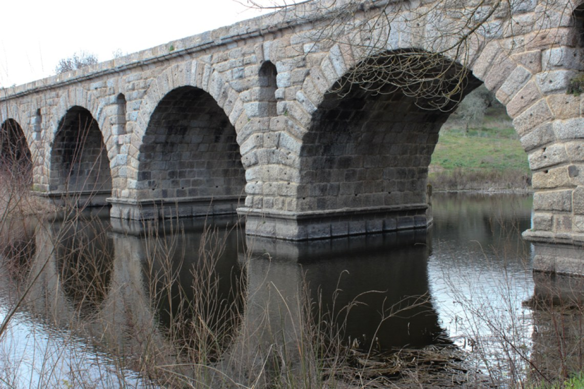 The Roman Bridge over the Seda River