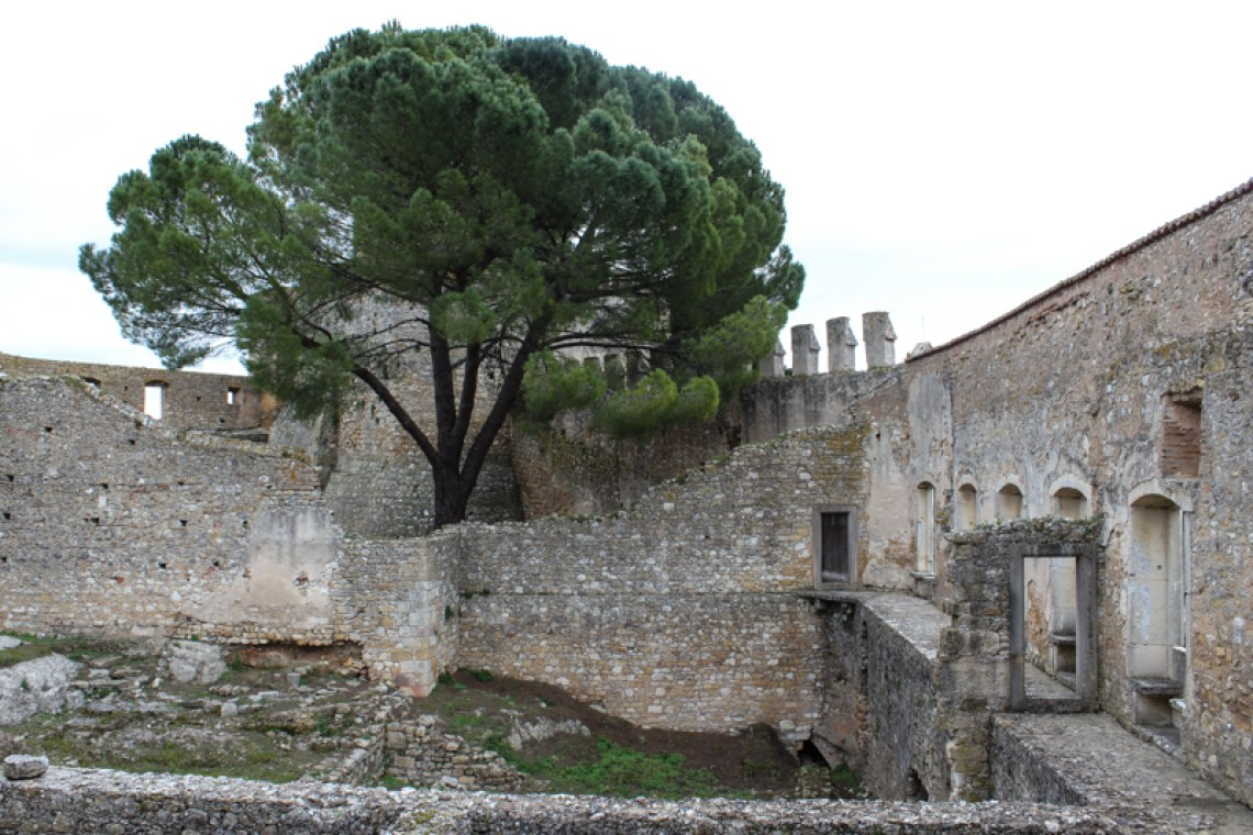 The remains of the Royal Apartments of Henry the Navigator