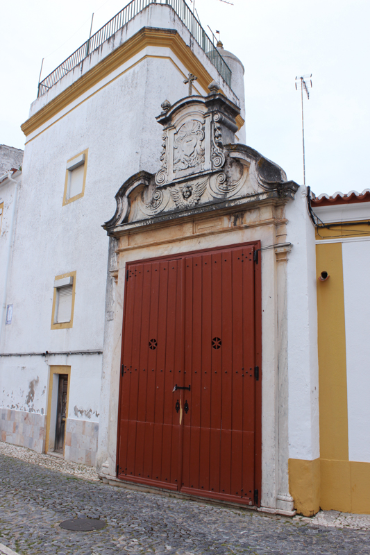Coat of Arms on mansion in Vila Vicosa