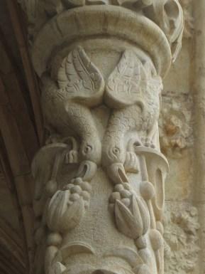 The cloister, St Jeronimos, Lisbon