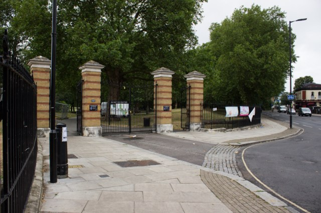 China Hall Gate, Southwark Park