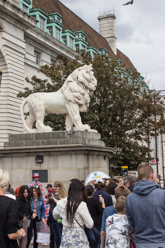 The Lion at County Hall