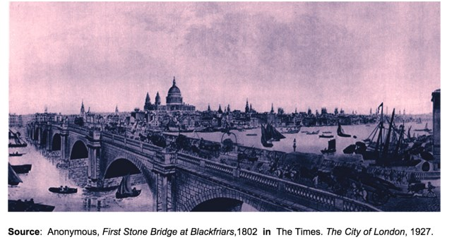 Blackfriars Bridge, 1802 (http://www.ph.ucla.edu/epi/snow/1859map/blackfriars_bridge.html)