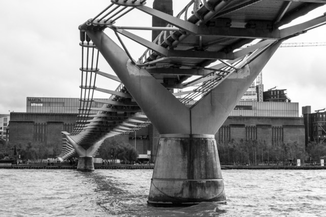 The Millennium Bridge & Bankside