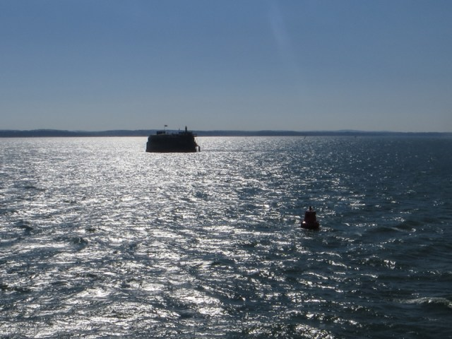 Spitsand Fort in the Eastern Solent