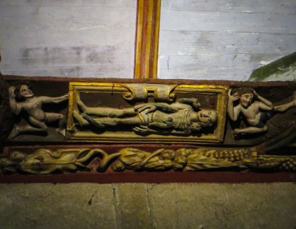 Carvings in Pleyben Church