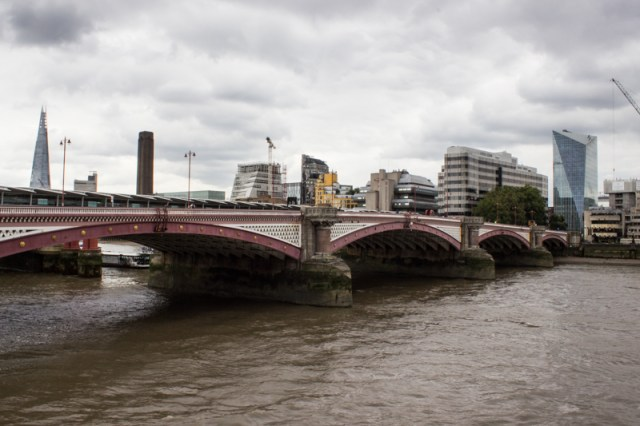 Blackfriars Bridge today