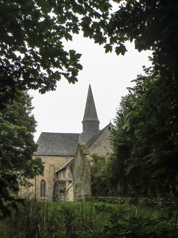 The Abbey & Church of Le Relecq