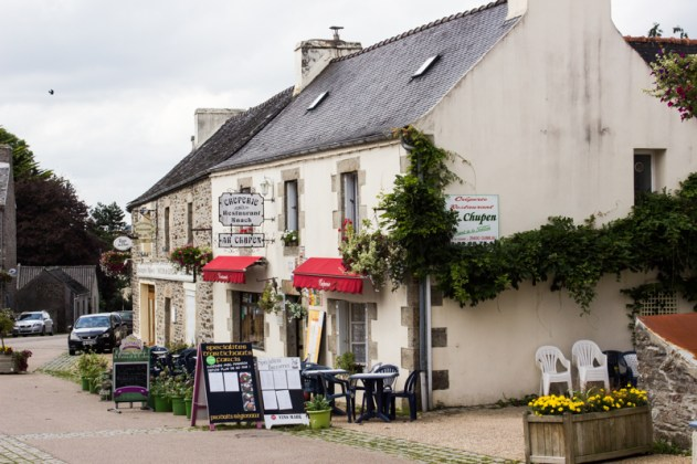 The Creperie in Guimiliau