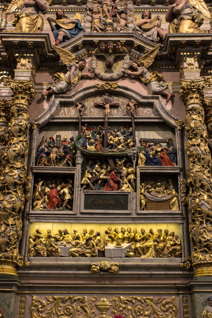 The Retable of the Passion, Lampaul-Guilmiliau