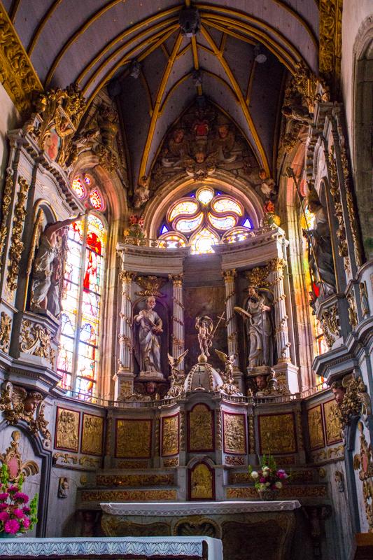Bodilis Church - the High Altar