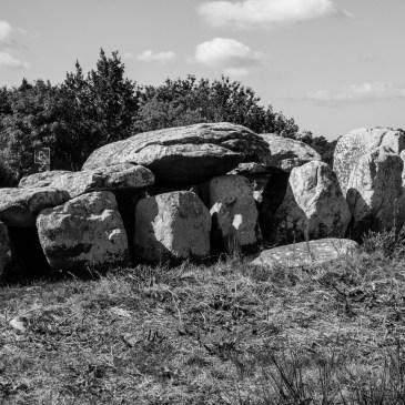 Alignment of Kermario, Carnac, Black & White photography