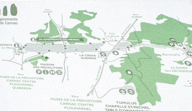Information Board at Le Menec