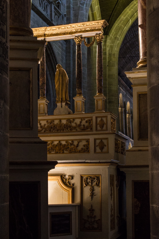 The Basilica of St Sauveur - the High Altar