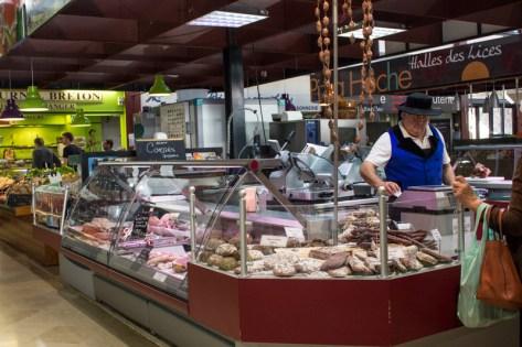 The market, Vannes