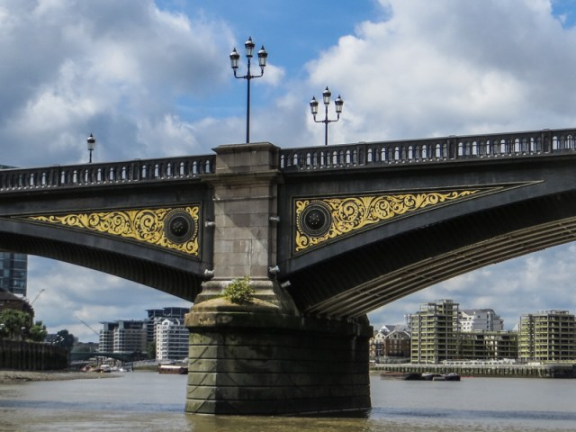Battersea Bridge from the river