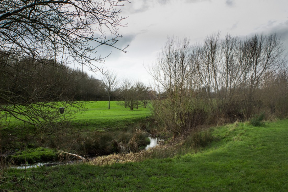 The Ravensbourne in Norman Park Recreation Ground