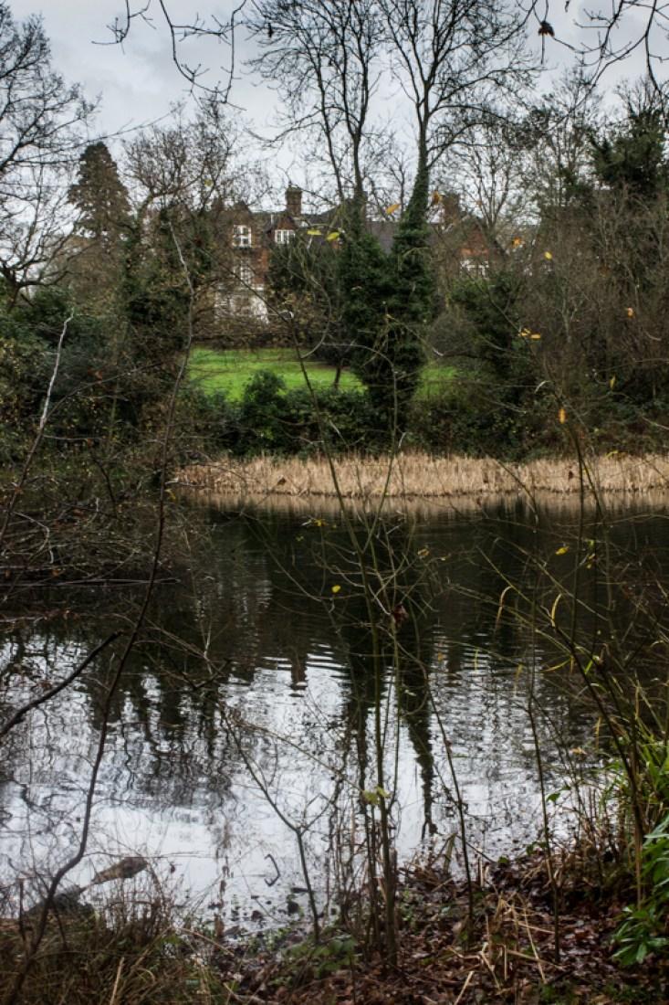 Ravensbourne Lodge and lake