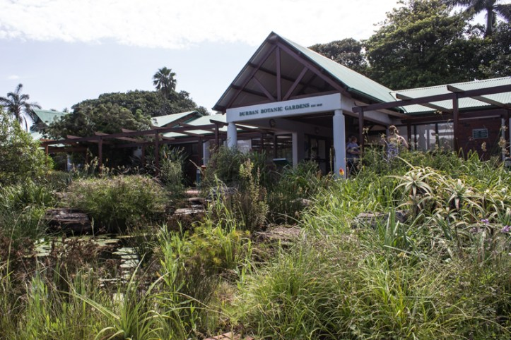 The Information Centre at Durban Botanic Gardens