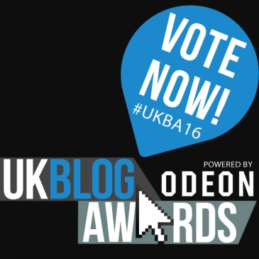 UK Blog Awards 2016