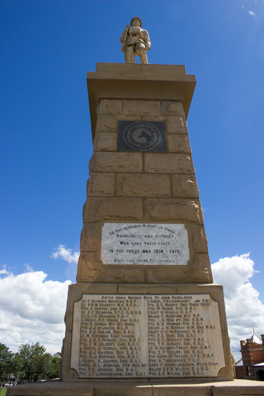 The memorial to the British dead during the Anglo-Boer War, 1899-1902