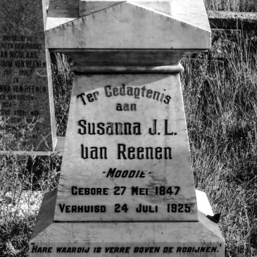 Van Reenen Cemetery, Golden Gate National Park