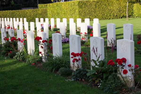 British cemetery at La Delivrande, Douvres