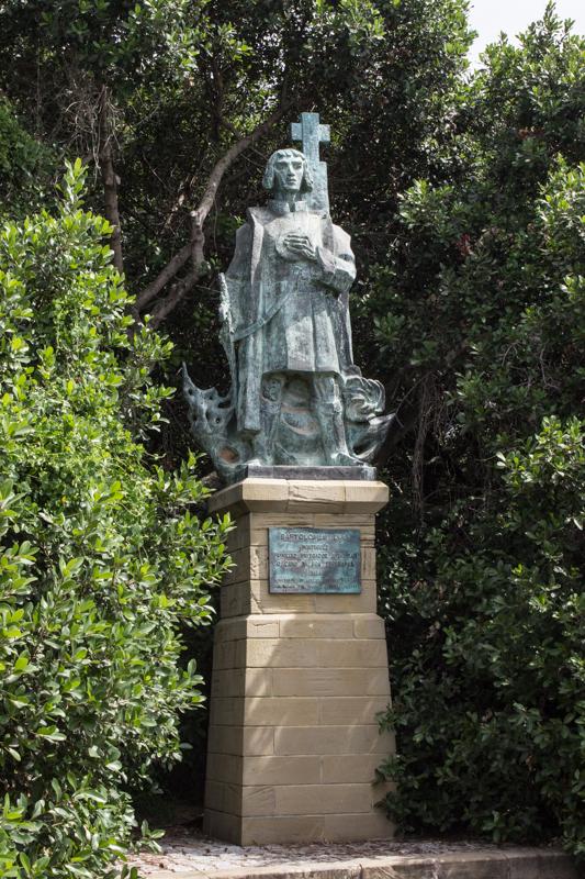 The statue of Bartholomew Dias