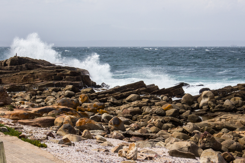 The sea at Mossel Bay