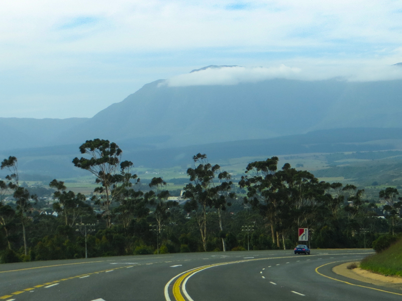 The mountains behind Swellendam