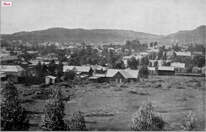Bloemfontein, c.1900 (http://www.mirrorservice.org/sites/gutenberg.org/1/5/5/6/15561/15561-h/15561-h.htm#CHAPTER_VIII)