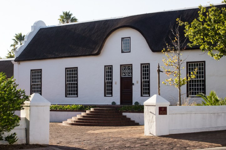 The rear facade of Libertas Parva, Stellenbosch