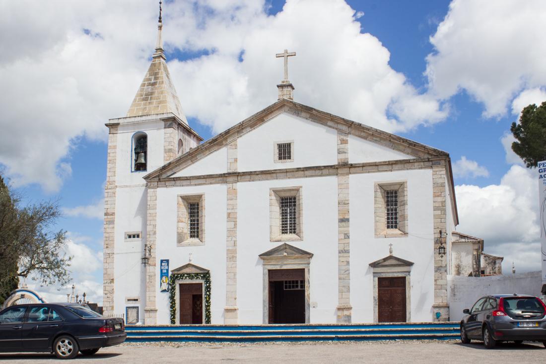 The Church of Nossa Senhora do Conceicao, Vila Vicosa