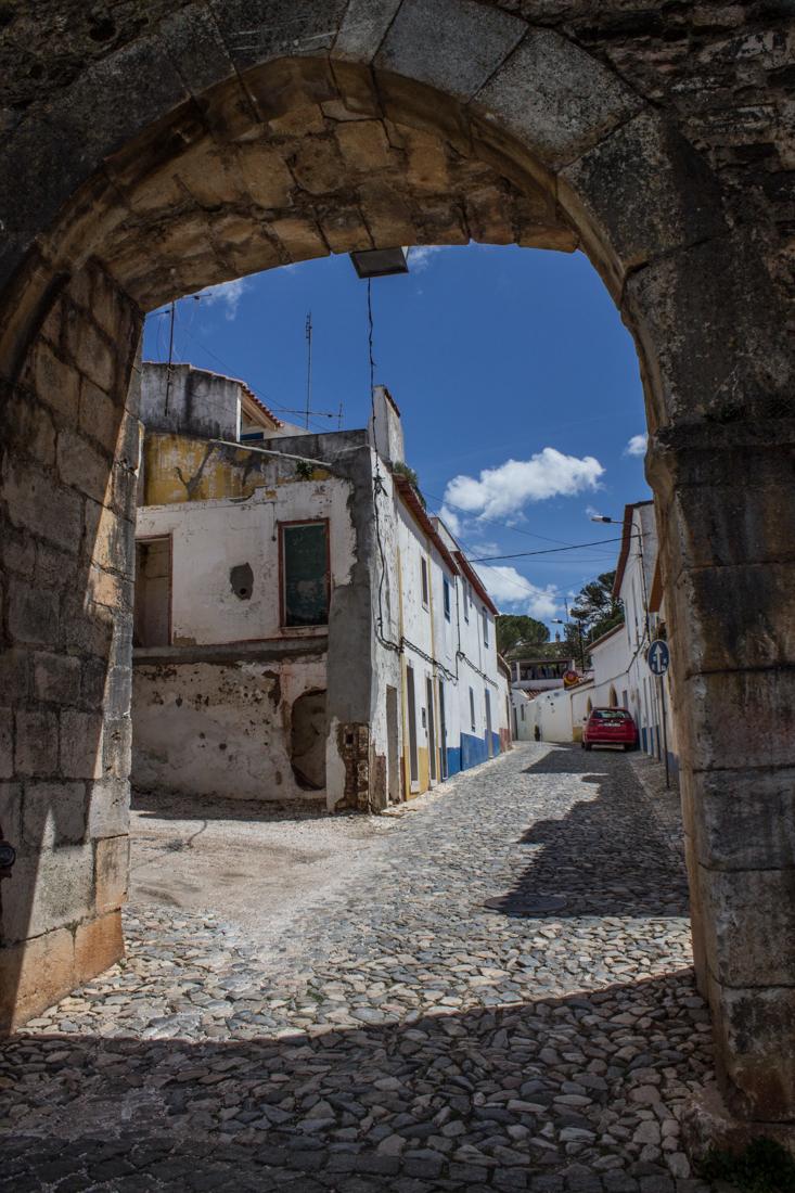 The Town Gateway into the Mediaeval Village, Vila Vicosa