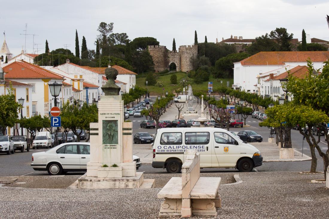 The same view of Vila Vicosa today