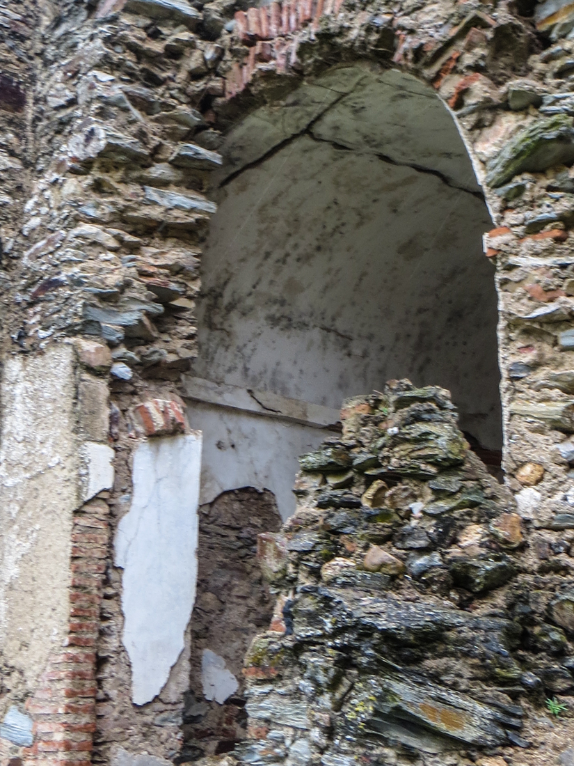 Ruins in the Moorish Walls
