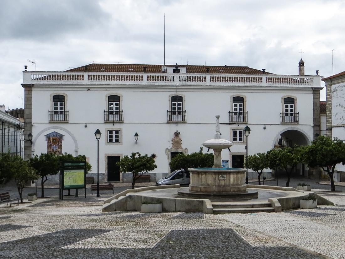The main square, Monforte