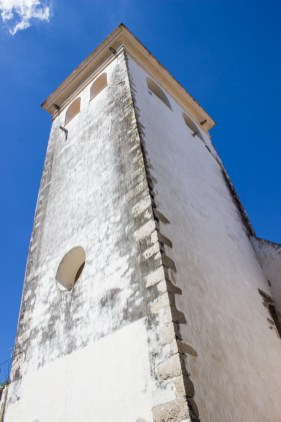 The Cabacas Tower, Santarem, part of the defences in the walls of the town