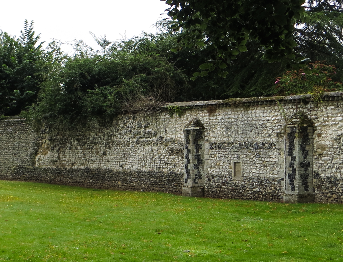 The Walls of Thetford Abbey