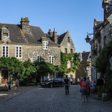 A Walk around Locronan