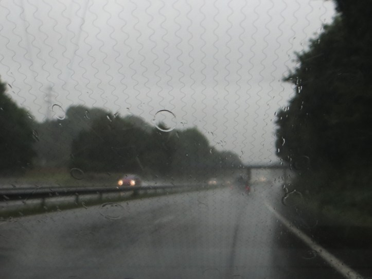 The motorway between Quimper & Brest